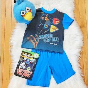 Angry Birds Pajama set with book